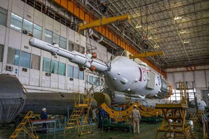 Старт космического корабля «Союз ТМА-20М»