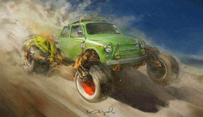Такими советские автомобили мы еще не видели