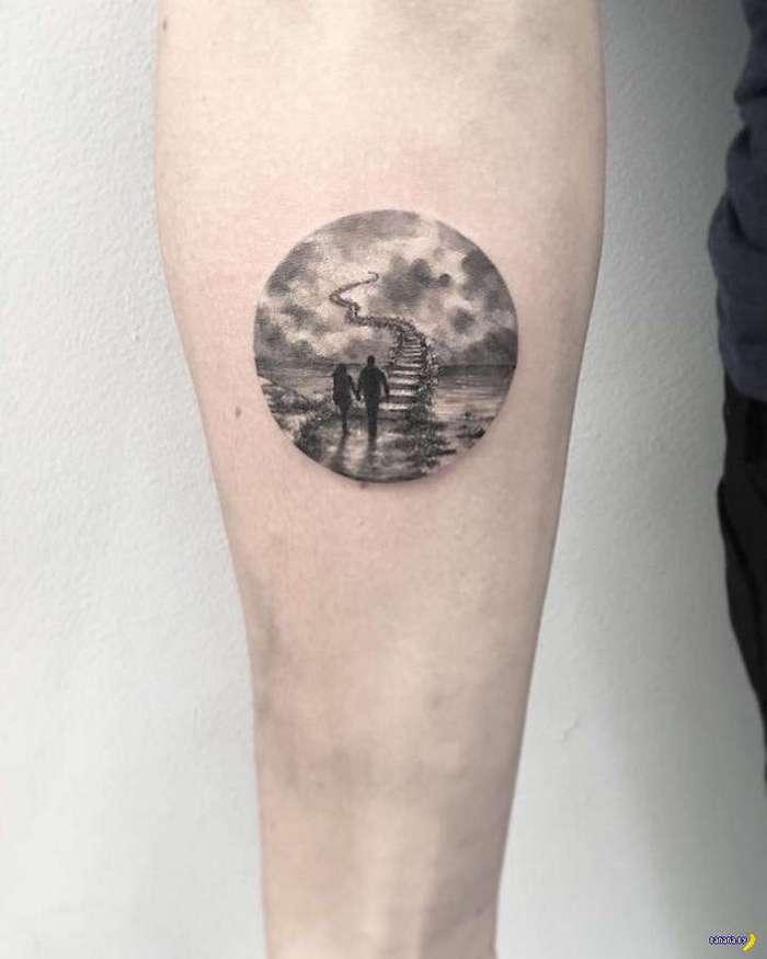 Татуировки на зависть - 74 - Деликатные кружочки
