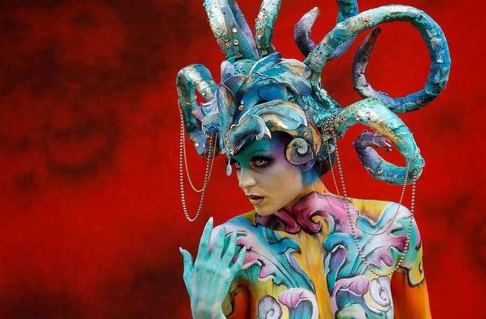 В Австрии прошёл Всемирный фестиваль бодиарта