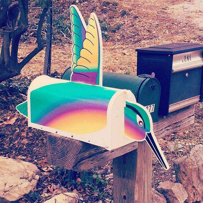 Вам письмо: необычные, странные и забавные почтовые ящики