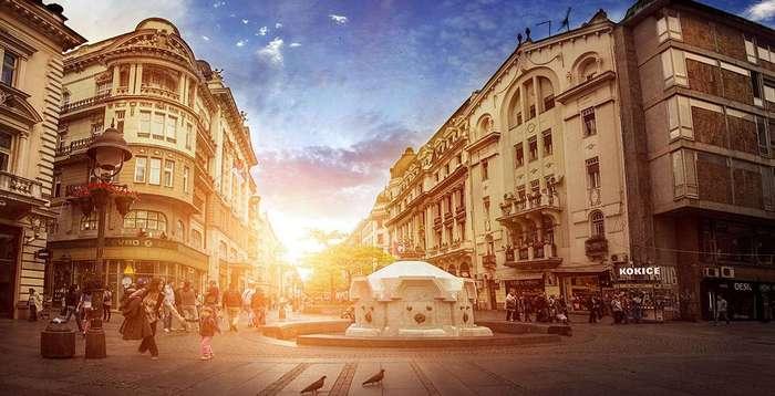 Величественный Белград на снимках сербского фотографа