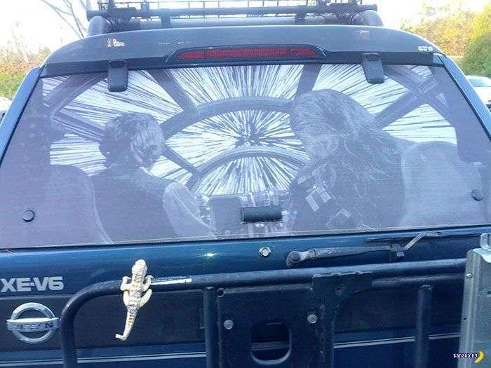 Владельцы украшают свои авто
