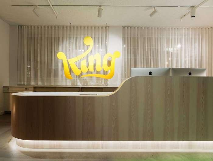 Волшебный мир для сотрудников компании King