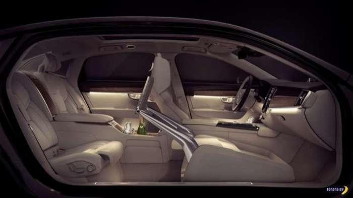 Volvo придумало салон для больших начальников