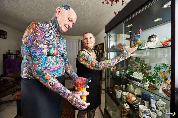 Вот посмотрим на эти татуировки в старости...