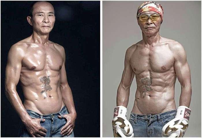 Возраст – не оправдание: как мужчина изменил свое тело в 61 год