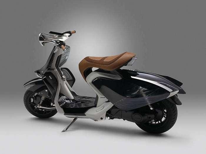 Yamaha представил скутер с крыльями лебедя