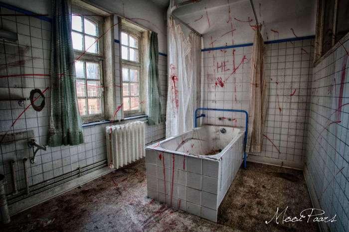 Заброшенная психиатрическая больница в Бельгии