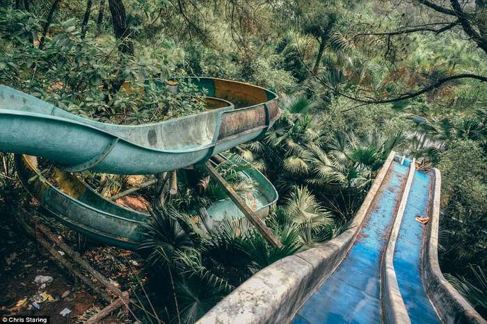 Заброшенный аквапарк во Вьетнаме