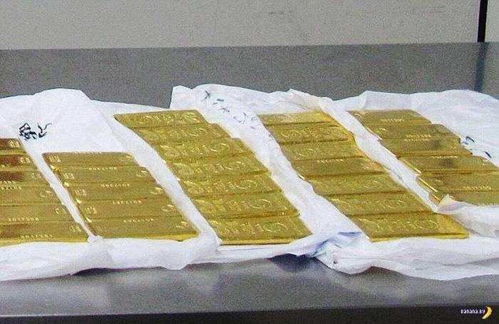 Золото в карманах