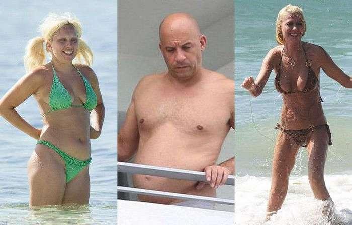 Звезды, расстроившие фанатов своими фигурами на пляже