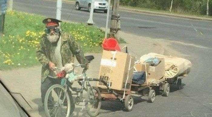 Фото, которые возможно было сделать только в России (40 фото)