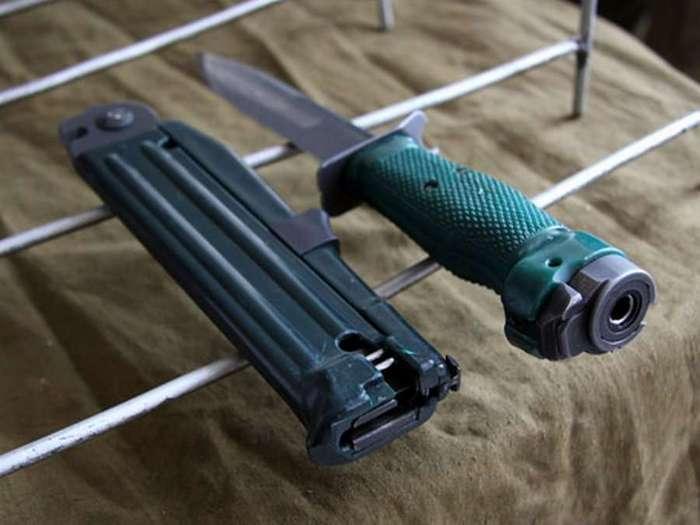Огнестрельное холодное оружие: на что способен нож разведчика