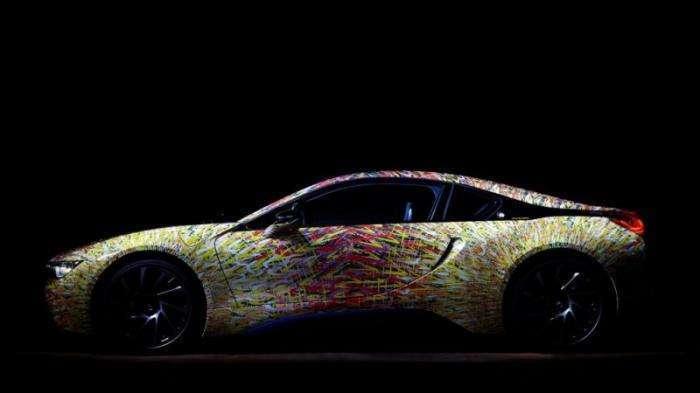 Специальная модификация гибрида BMW i8 Futurism Edition (11 фото)