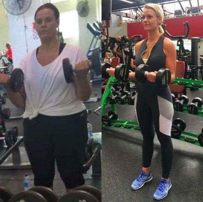 Полная девушка сбросила лишний вес и обрела фигуру своей мечты