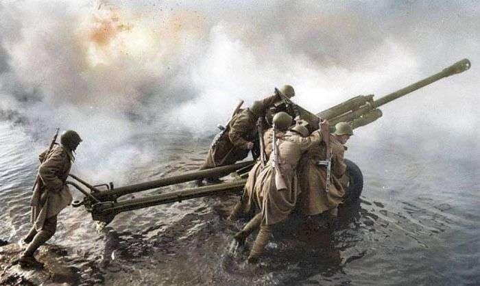 Фронтовые будни бойцов гвардейской артиллерийской дивизии прорыва РГК