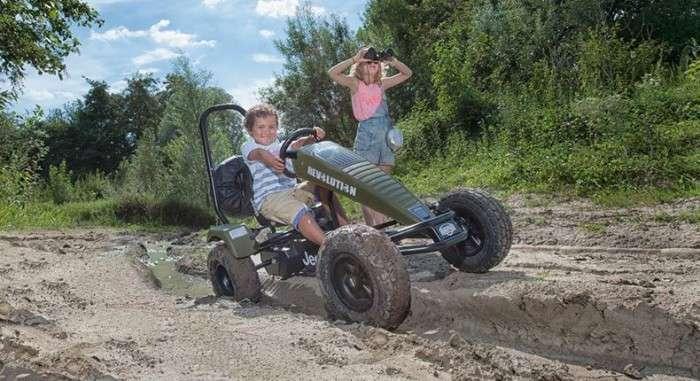 Велосипед-джип, который не даст детям засидеться дома