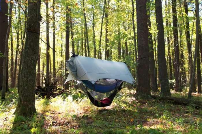 Отдых в «подвешенном» состоянии: гамак - лучшая альтернатива палатке