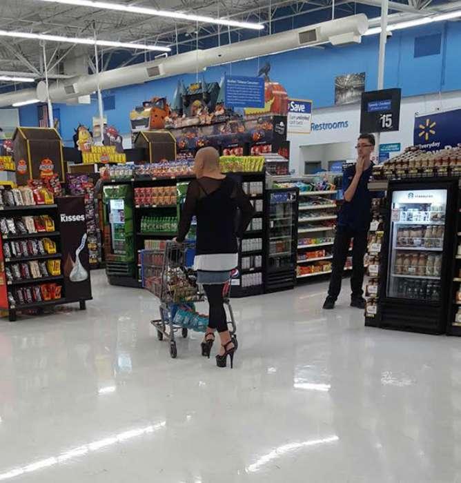 17 убойных снимков из «модных» архивов американских супермаркетов