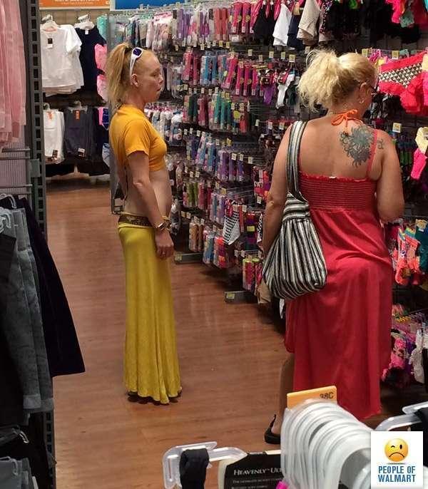 Тотальное безумие или чудаковатые покупатели американских супермаркетов (20 фото)