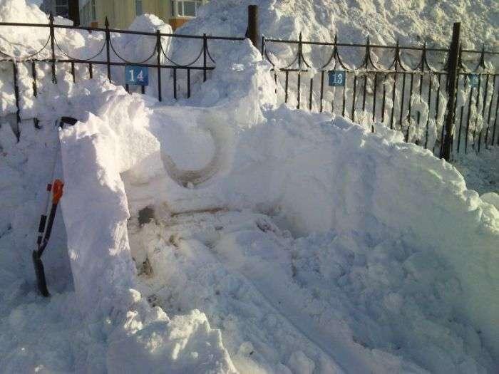 Вот почему автомобилистам Камчатки необходимо иметь свой гараж (8 фото)