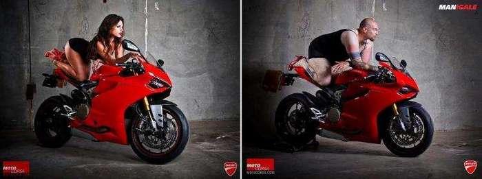Реклама Ducati (13 фото)