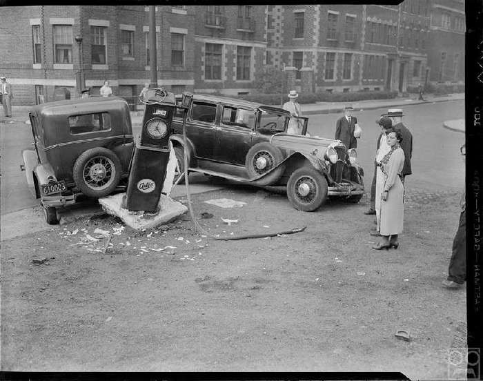 Подборка винтажных фото аварий. Бостон.