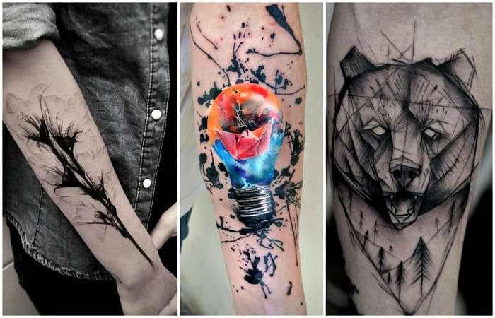 20 стильных и оригинальных татуировок, которые выглядят очень круто на мужских телах
