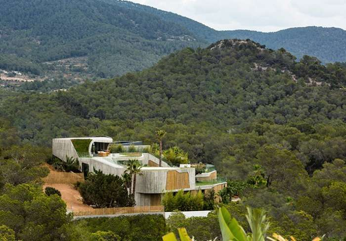 Сочетание простоты и роскоши: резиденция на острове Ибица
