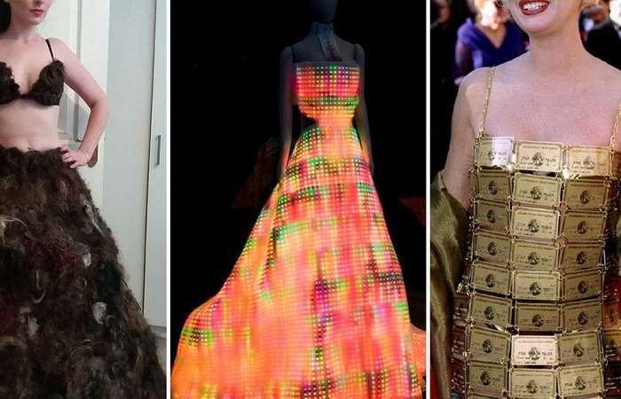 10 самых невероятных платьев, надеть которые рискнёт не каждая модница