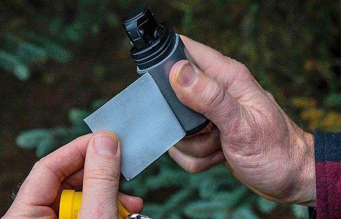 Новая газовая зажигалка, которая не подведет даже в самых сложных условиях