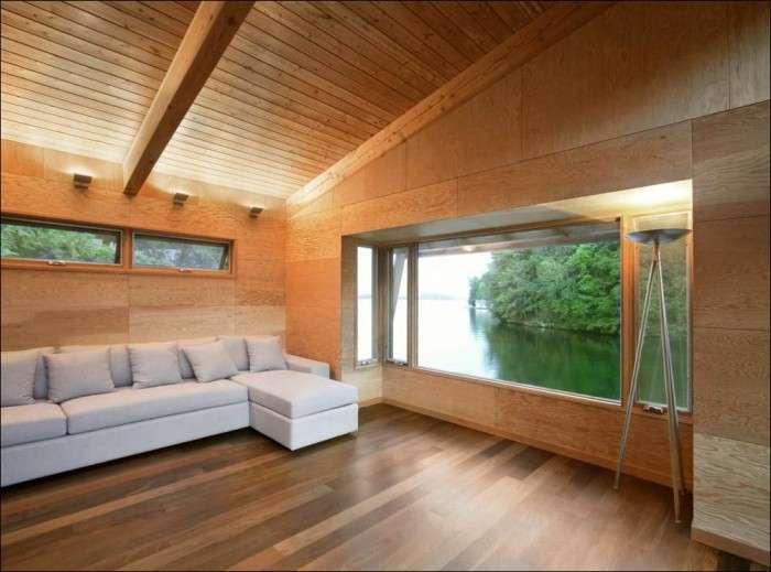 Дом на озере (8 фото)
