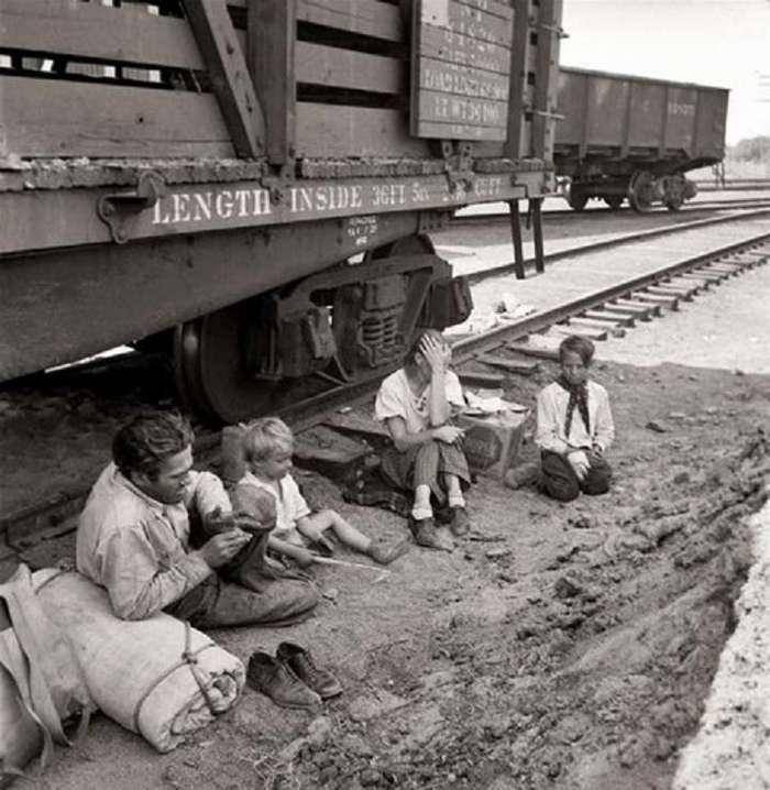Голод в США, как это было.