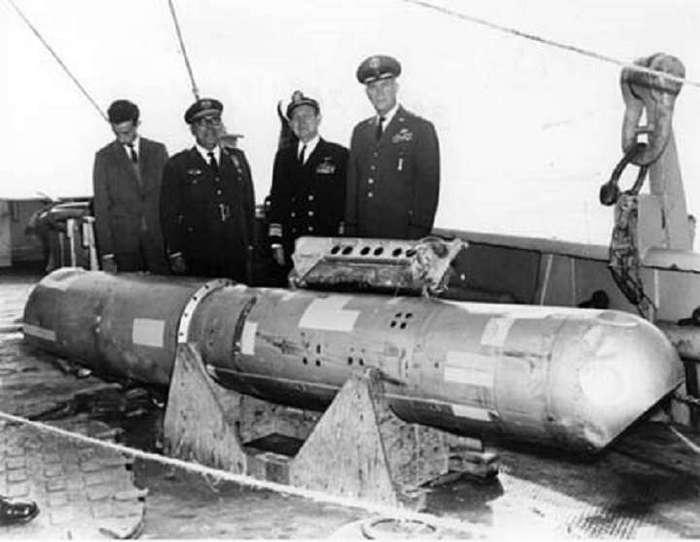 Потерянное ядерное оружие. Несколько фактов.