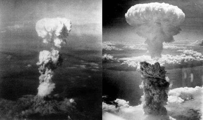 Последние приготовления перед сбросом атомных бомб на Хиросиму и Нагасаки (16 фото)