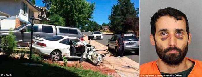 Отец намеренно разбился на автомобиле в попытке убить своего маленького сына