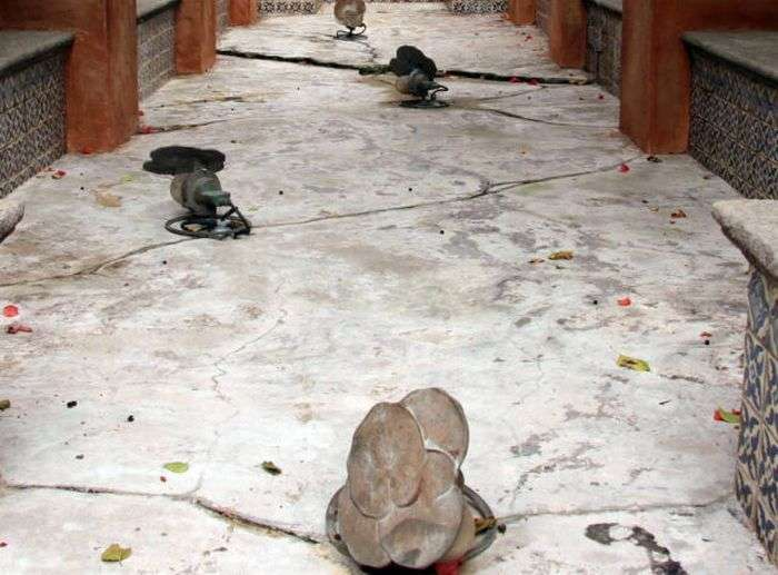 Заброшенный отель (33 фото)