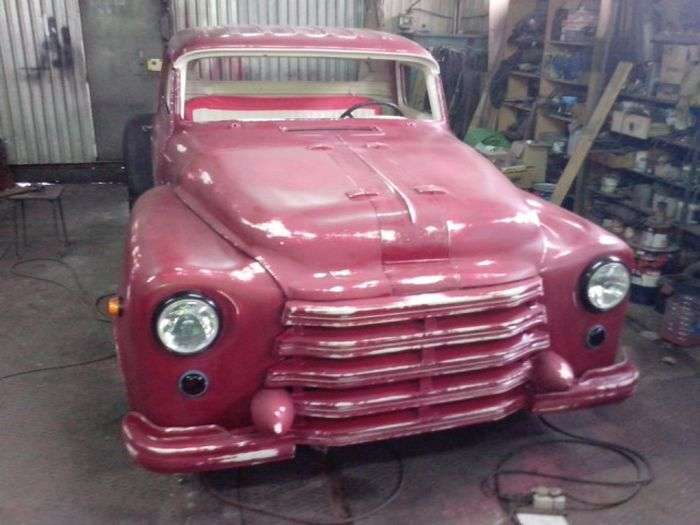 Rat Truck Redneck - отечественный кастом-кар из Тюмени