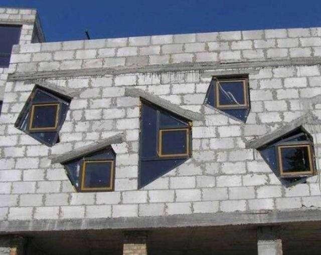 Фейлы в исполнении строителей (41 фото)