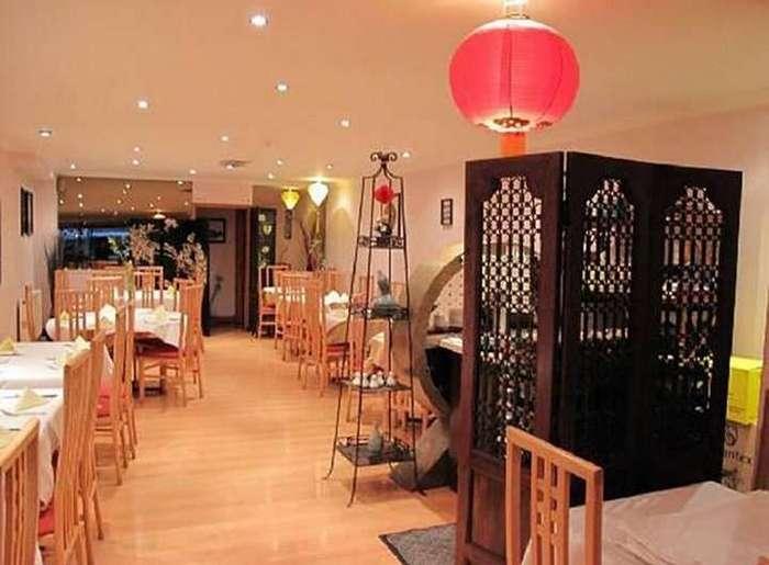 Китайский ресторан изнутри
