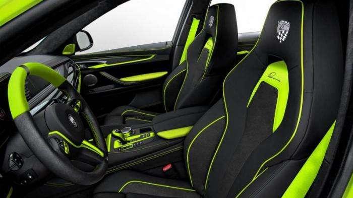 Сочный тюнинг BMW X6M от Lumma Design (11 фото)