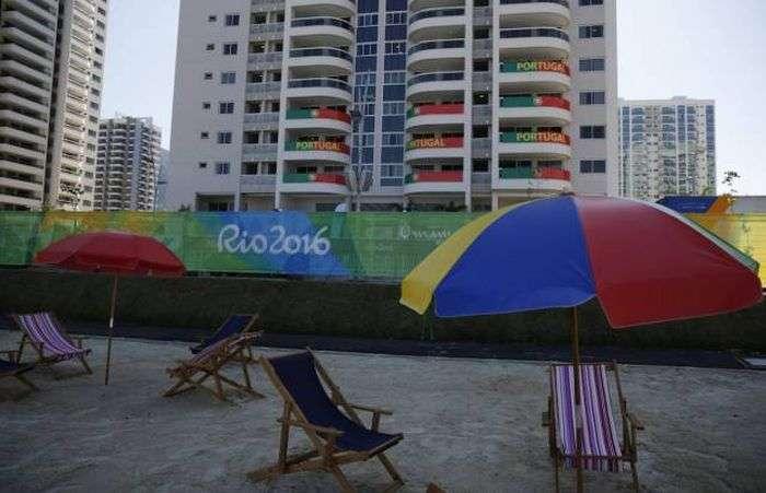 Олимпийская деревня Рио-де-Жанейро (25 фото)