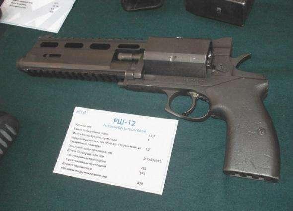 С любовью из России: мощнейший револьвер «Слонобой» РШ-12
