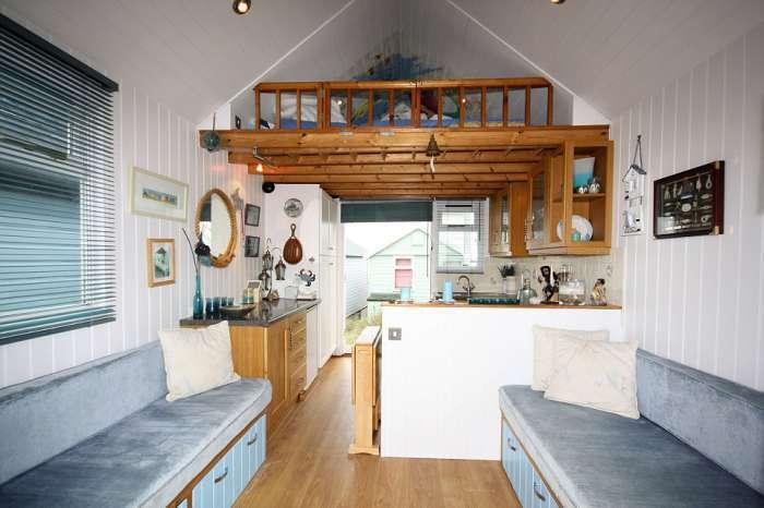 Элитная недвижимость на пляже Мадефорд в Великобритании (7 фото)