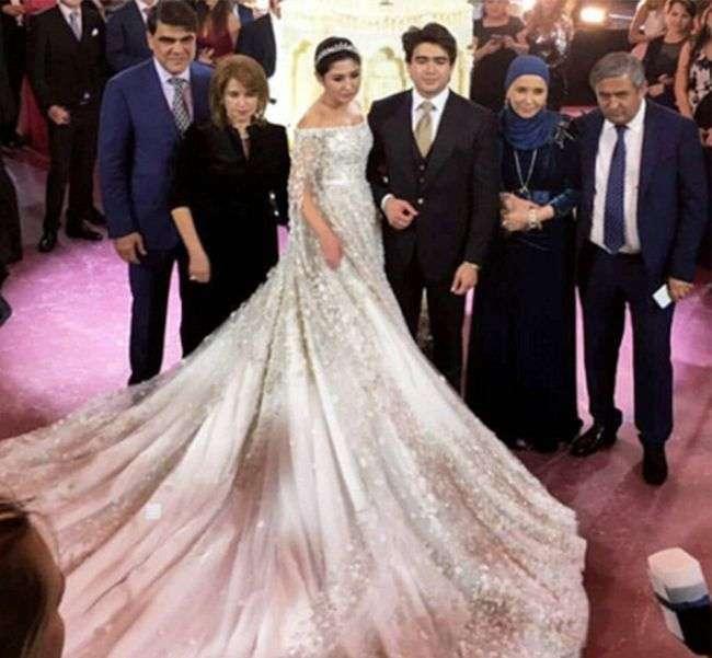 Роскошная свадьба (10 фото)