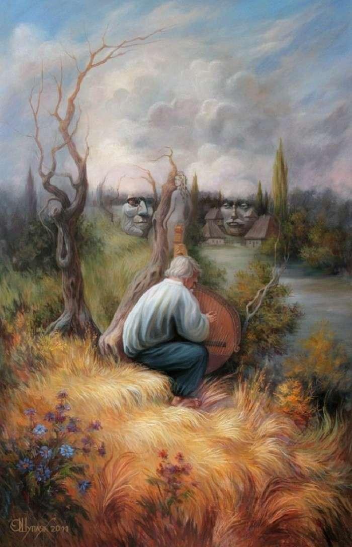 Картинки cо скрытым смыслом, на которые нужно взглянуть дважды (14 картинок)