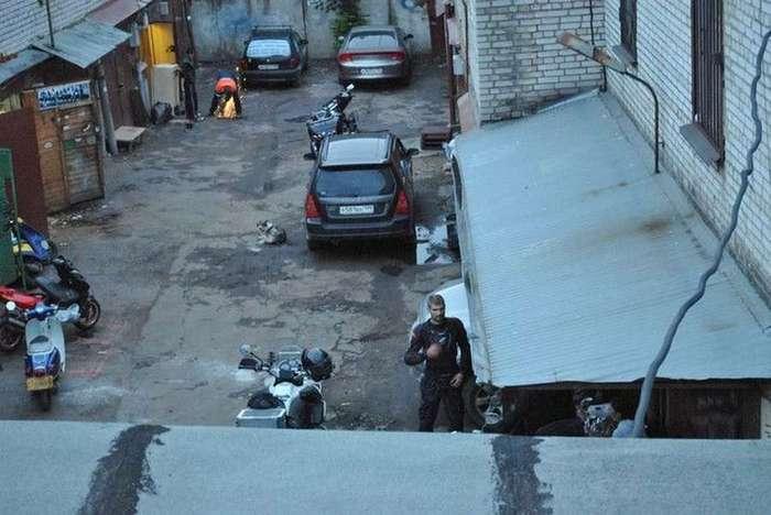 Жильё в московских гаражах