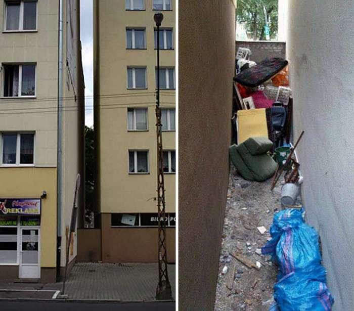 Каково это — жить в самом узком доме в мире (13 фото)