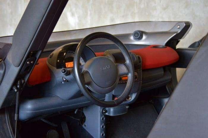 Smart Crossblade - самый маленький серийный кабриолет (7 фото)